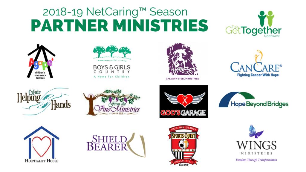 2018-19 NetCaring Season Partner Ministries